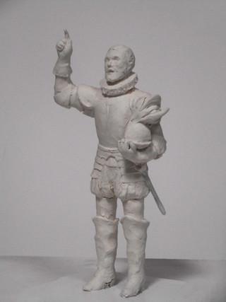 Don Luis Fajardo, II Marqués de los Vélez (Boceto)