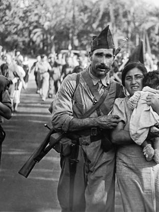 Familia miliciana. 1936