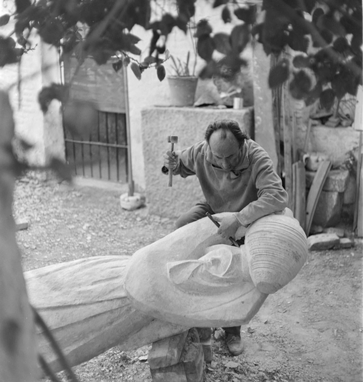 Jesús de Perceval, pintor, 1972