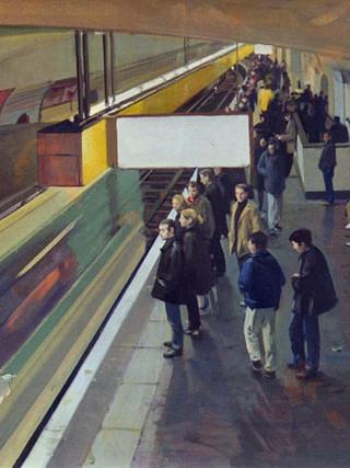 El metro, París