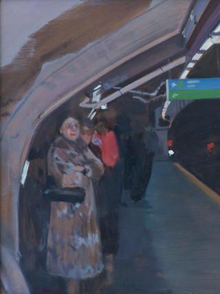El metro. Madrid