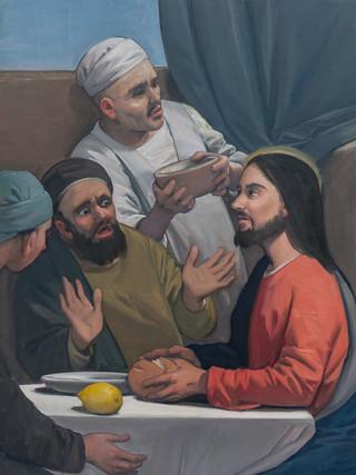 Capilla del Resucitado. Cena en Emaús.