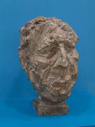 """Antonio Campillo Párraga (Murcia, 1926 – 2009) """"Pepe el de la matrona"""". 1972. Bronce. Altura 39 cms."""