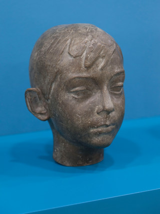 """Antonio Campillo Párraga (Murcia, 1926 – 2009) """"Niño"""". 1970. Bronce. Altura 24 cms."""