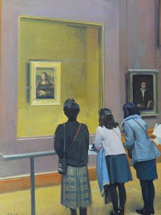 La Gioconda, el Louvre.