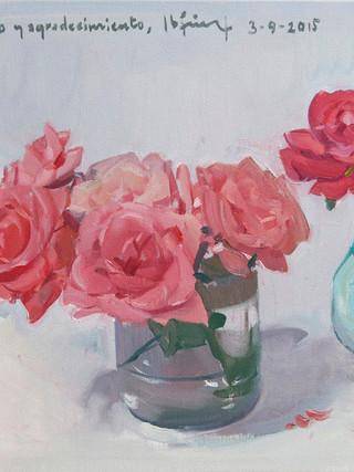 Rosas, estudio. 2015