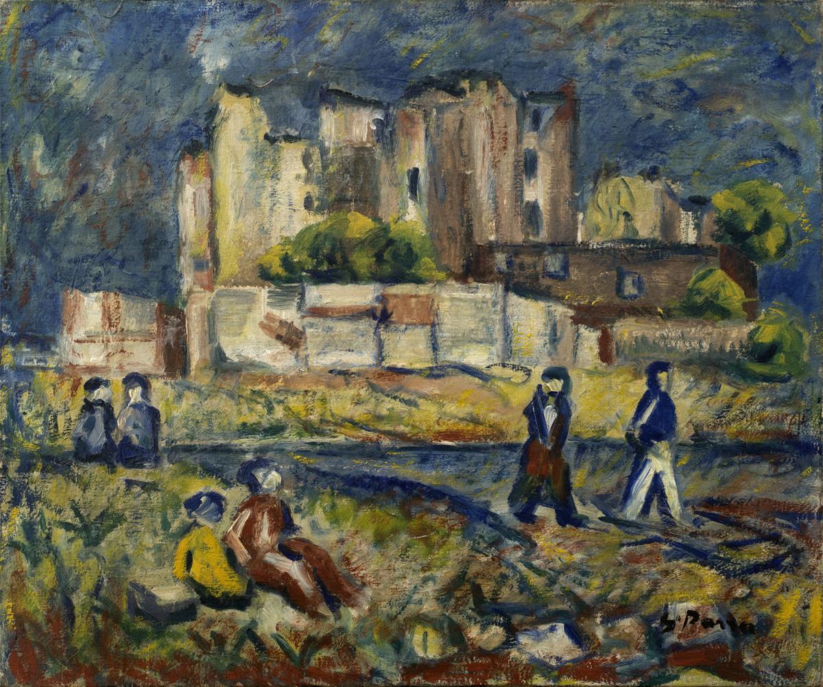 PARRA Le paysage circa 1940 oleo-lienzo