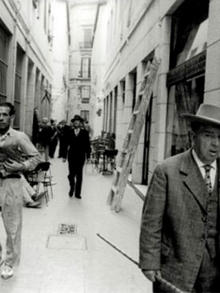 """""""Semana Santa. Malaga"""". 1965. Copia sobre papel lambda. 75x105 cms."""