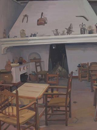 Cocina del Santuario. El Saliente