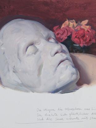Mascarilla mortuoria de Beethoven