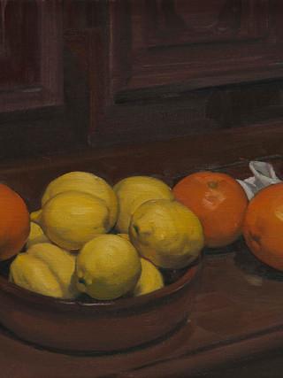 Naranjas y limones.