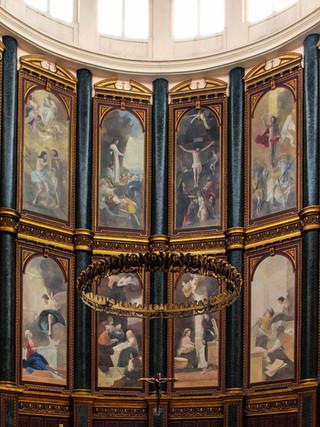 La vida de Cristo (retablo mayor de la Catedral de San Salvador)