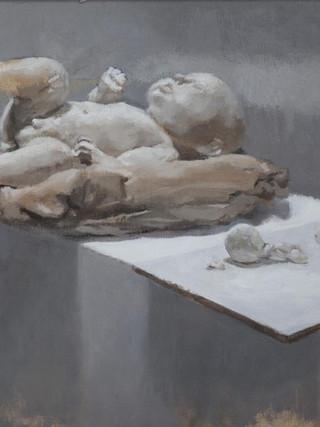 RAFEL BESTARD (Palma de Mallorca, 1967) Sin título (2013). Óleo sobre papel, 60x84 cms.