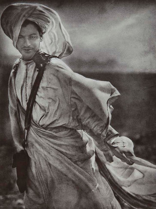Moro al viento. 1909