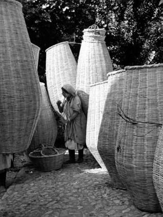 Cestos. Xauen. Marruecos, 1944