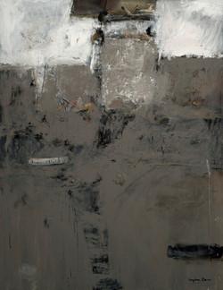 SEGURA CANO - Paisaje despues de la huelga (2008) oleo-lienzo
