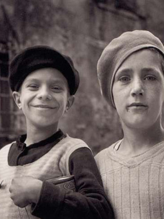 Futuros marineros. Marsella, 1938