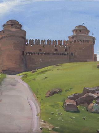 El castillo, La Calahorra
