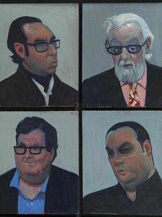 Cuatro curadores (Four curators)