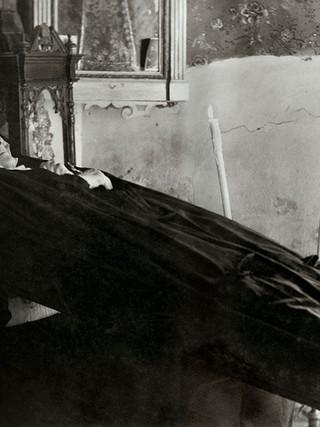 Retrato de una difunta. Hacia 1956.