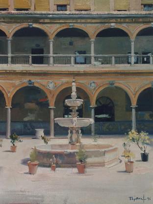 Patio del Hospital de San Juan de Dios, Granada