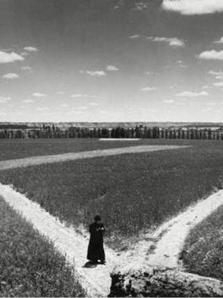 Cura paseando, Zamora. 1950