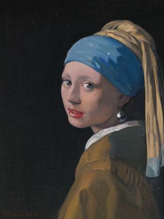 La joven de la perla. 2019