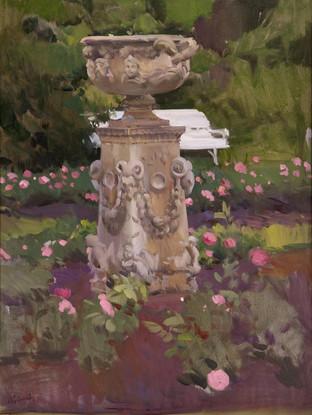 Jardín. Somerley