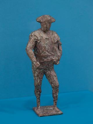 """Antonio Campillo Párraga (Murcia, 1926 – 2009) """"Torero"""". 1995. Bronce. Altura 34 cms."""