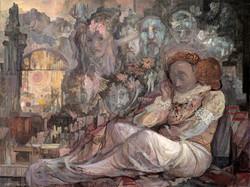 MELCHOR_PEROPADRE_-_Sueños_(1983)_oleo-lienzo