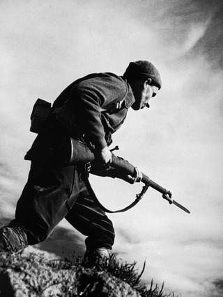 Soldado republicano. 1936