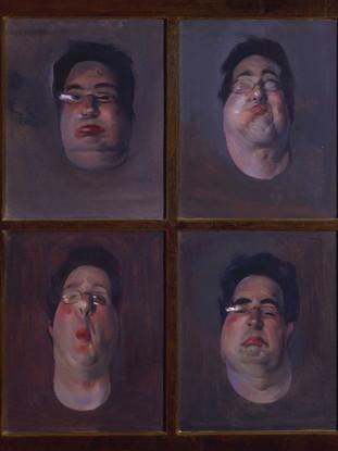 Cuatro autorretratos putrefactos (2001)