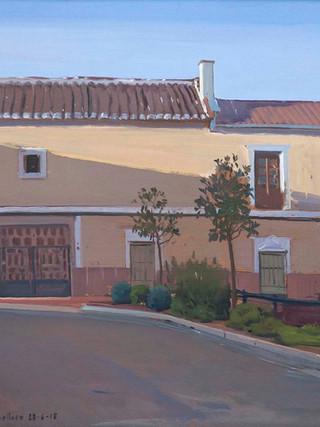 Casa natal de Antonio López, Tomelloso. 2018