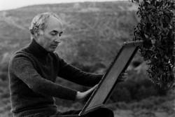 Luis Cañadas, pintor, 1970