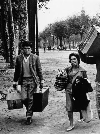 Emigrantes. Hacia 1960.