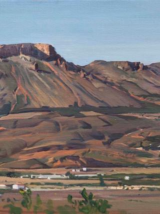 La Muela desde el Cerro Colorao, Vélez Rubio