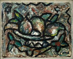 PARRA Bodegon circa 1945 oleo-lienzo