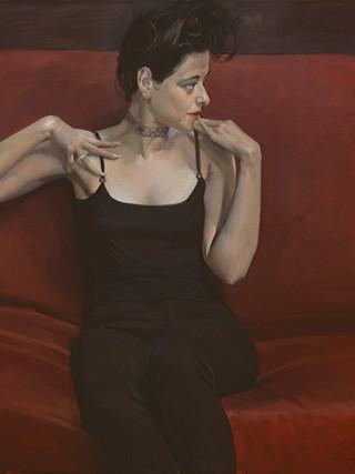 Rita (negro y carmín)