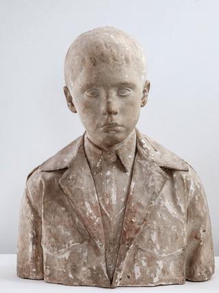 """Francisco López Hernández (Madrid, 1932 - 2017) """"Francesco"""". 1971. Escayola. Altura 49 cms."""