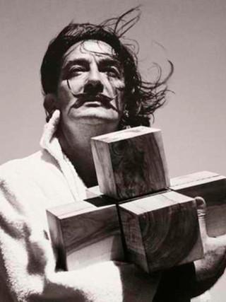 """""""Dali y el hipercubo"""". 1954."""