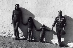 JORGE RUEDA 2 La familia de CArlos. fotografia en b-n