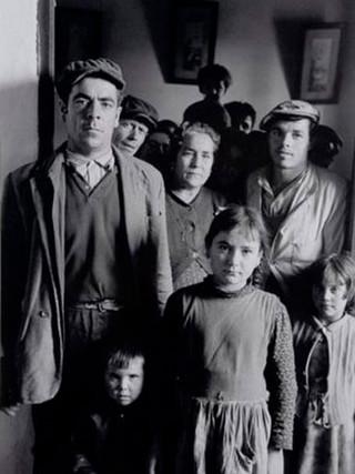 """""""Familia andaluza"""". 1965."""