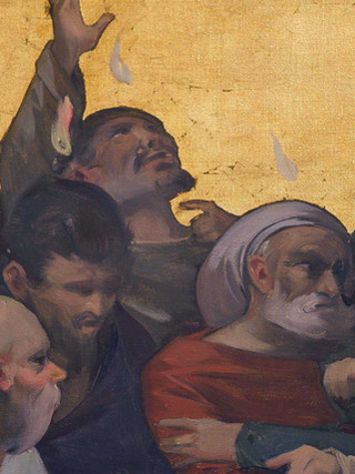 Pentecostés (detalle)