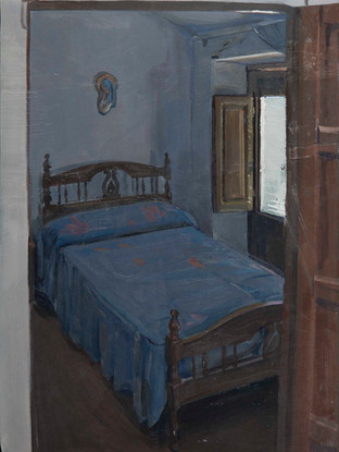 La casa de Albox. Dormitorio