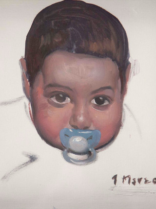 Alfredo con dos años