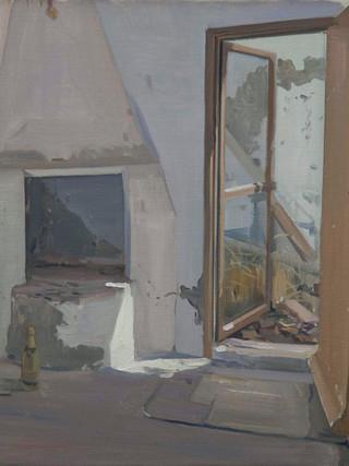 La casa de Albox. Taller y patio de atrás