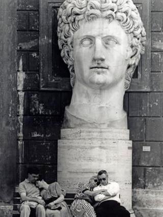"""""""Soñador de museos"""". 1992."""