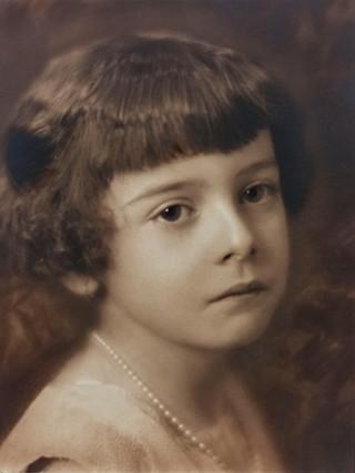 Retrato de niña. 1930