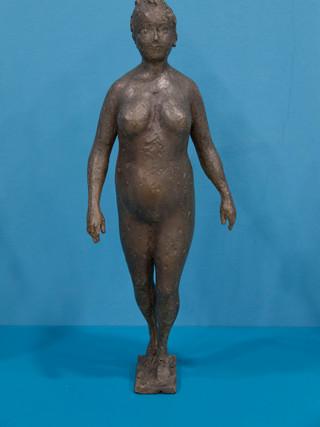 """Antonio Campillo Párraga (Murcia, 1926 – 2009) """"La danza"""". 1992. Bronce. Altura 51 cms."""