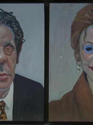 Dos coleccionistas de arte